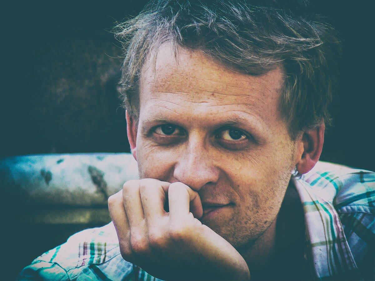 Kristian Borring, photo by Nadja von Massow